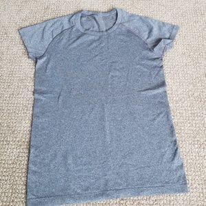 Lululemon top grey size 8